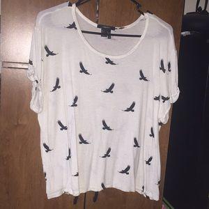 Forever 21 birds shirt